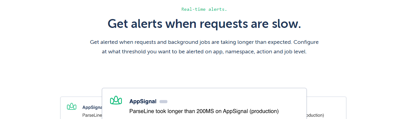Appsignal is an APM tool to consider