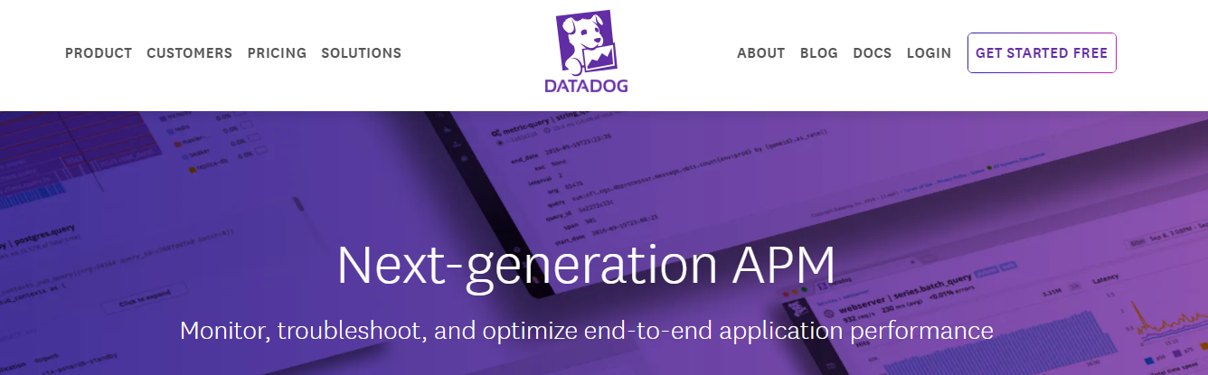 Datadog is an APM tool to consider