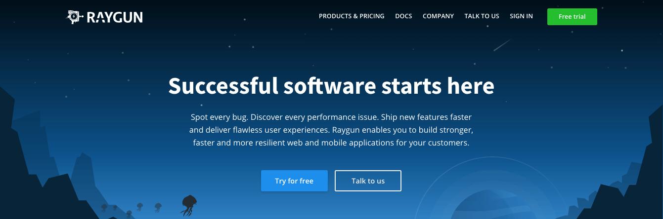 Raygun es una nueva herramienta APM a considerar