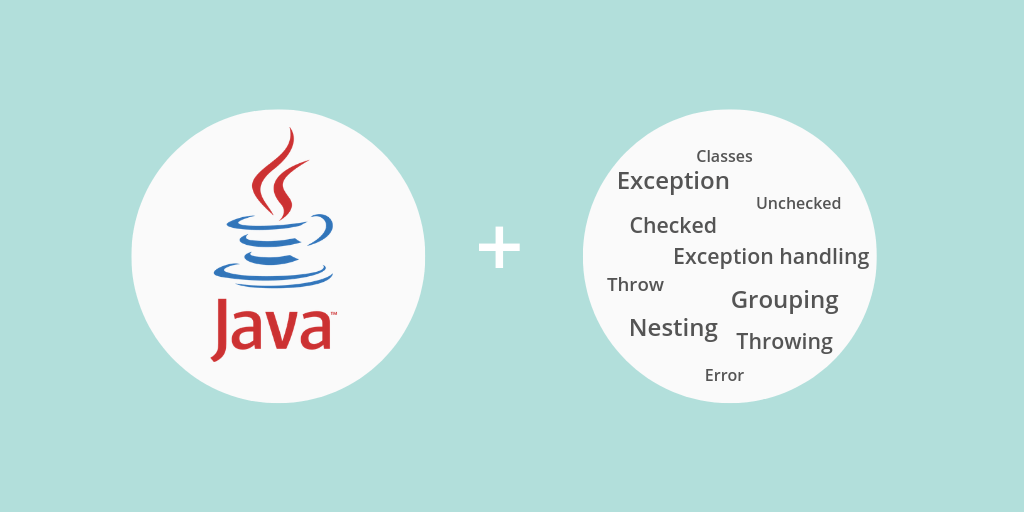 Java exceptions: Common terminology with examples [2019 guide] featured image.