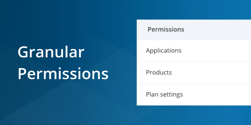 Introducing granular permissions: Customize team member's access for finer control featured image.