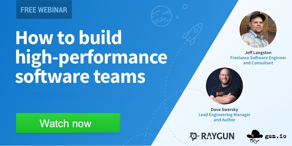 Hiring strategies for high-performance software teams [Webinar] featured image.
