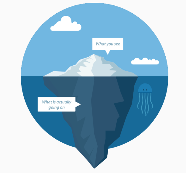 Tech debt is the iceberg of development