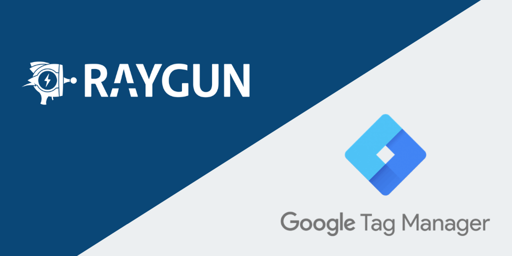 Utilice Raygun con Google Tag Manager