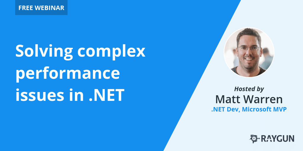 Solving complex performance problems in .NET Core [Webinar] featured image.