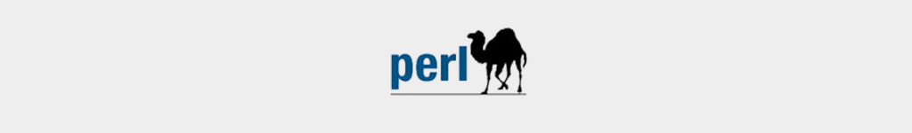 Perl  is a popular programming language