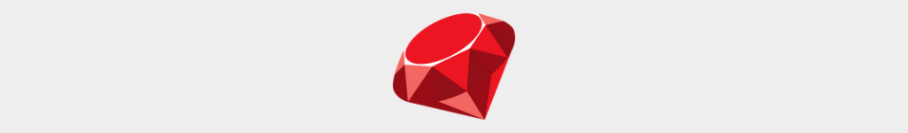 Ruby is a popular programming language
