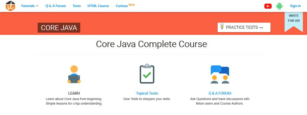 JournalDev is a great place to learn Java