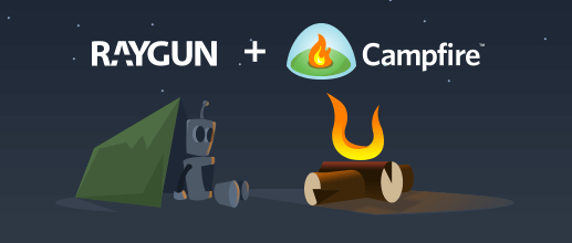 Raygun and campfire sitting in a tree...