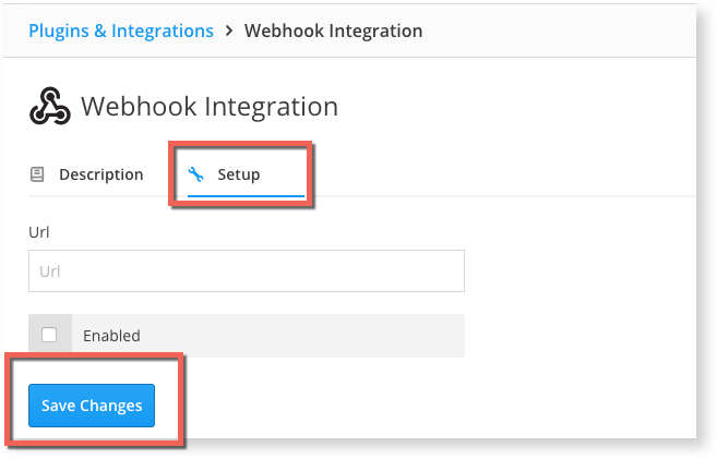 Raygun Webhook integration - Head to setup and add the URL to start the link