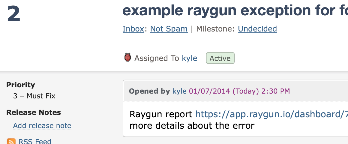 Error Tracking with Fogbugz and Raygun