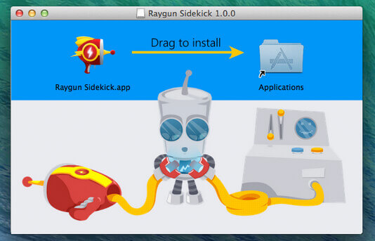 Raygun sidekick iOS