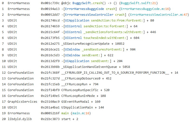 New Stack Trace
