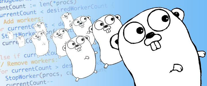 How I implemented an auto-scaling and self-defensive service in Golang