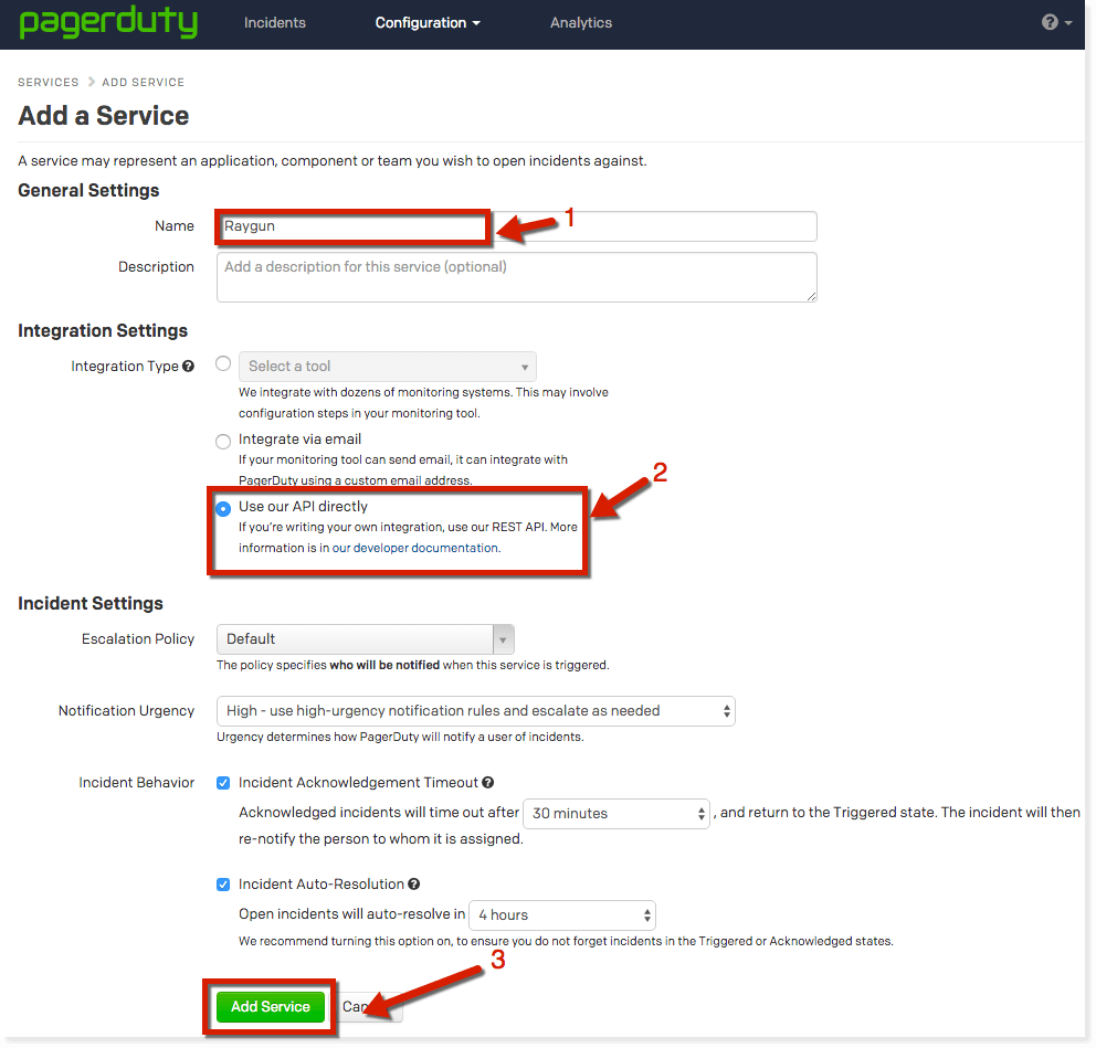 how to retrieve your API key from PagerDuty