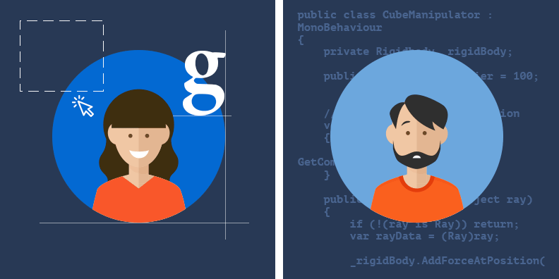 Feature image for Designing for developers – Pixel pushers and code crunchers unite!