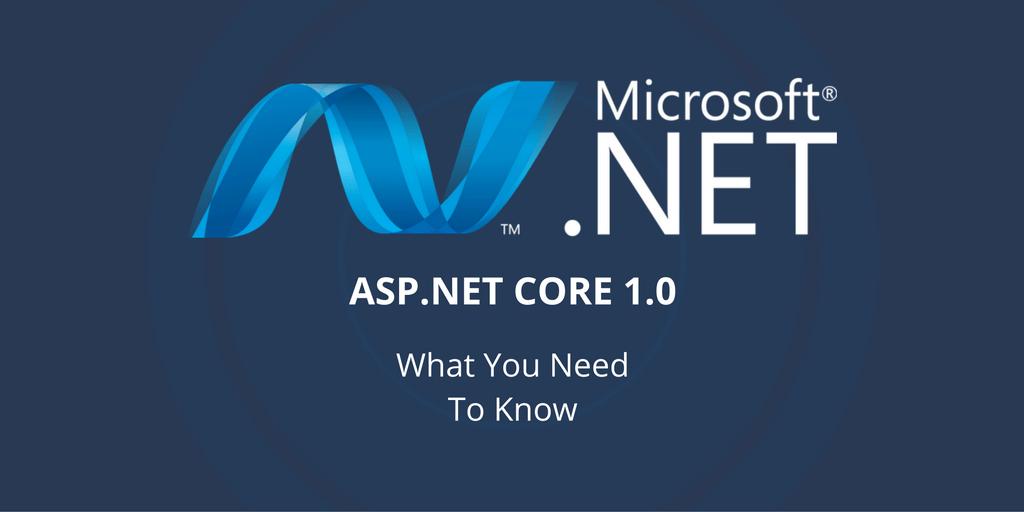 .NET Core 1.0 release
