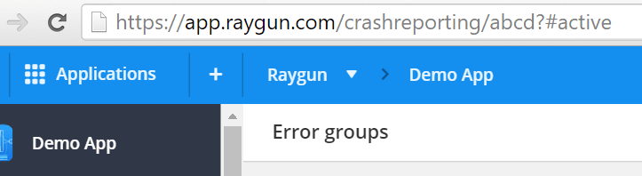 cYou will need two things to set up Raygun and AWS Code Deploy