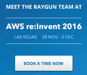 DevIntersection review : book a time at AWS with Raygun