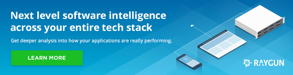 Next level software intelligence across your entire stack. Get deeper analysis into how your applications are really performing. Learn more.