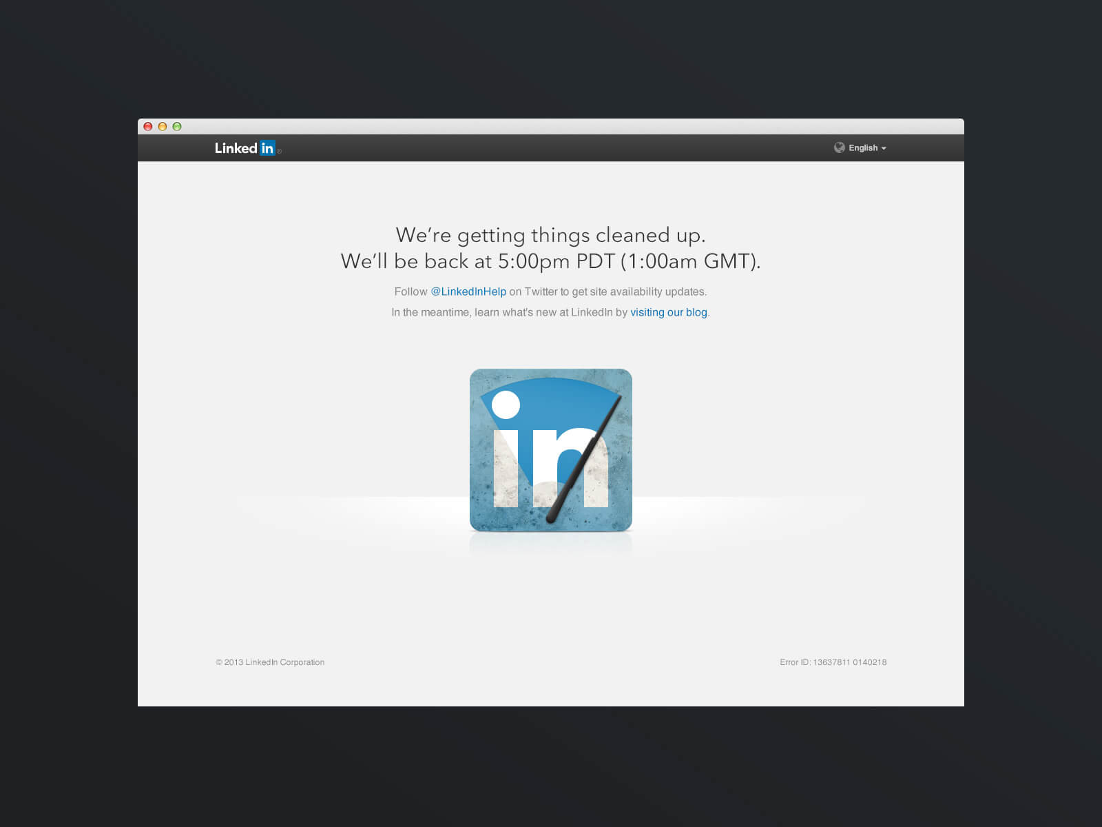 Tech support tips: lead by LinkedIn's example
