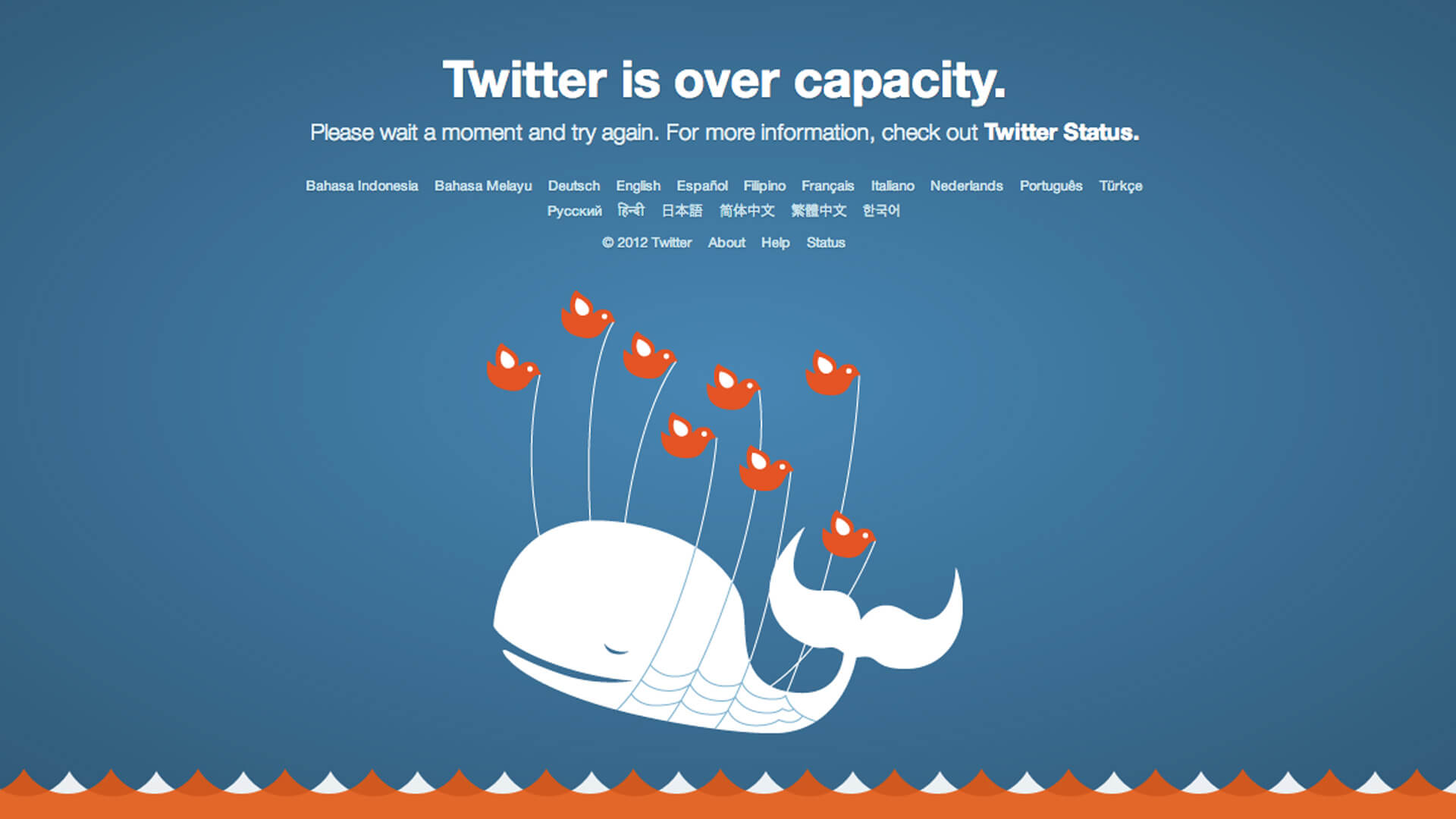 Twitter's fail whale: tech support tips: support can be humorous