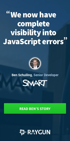 visibility into JavaScript Errors