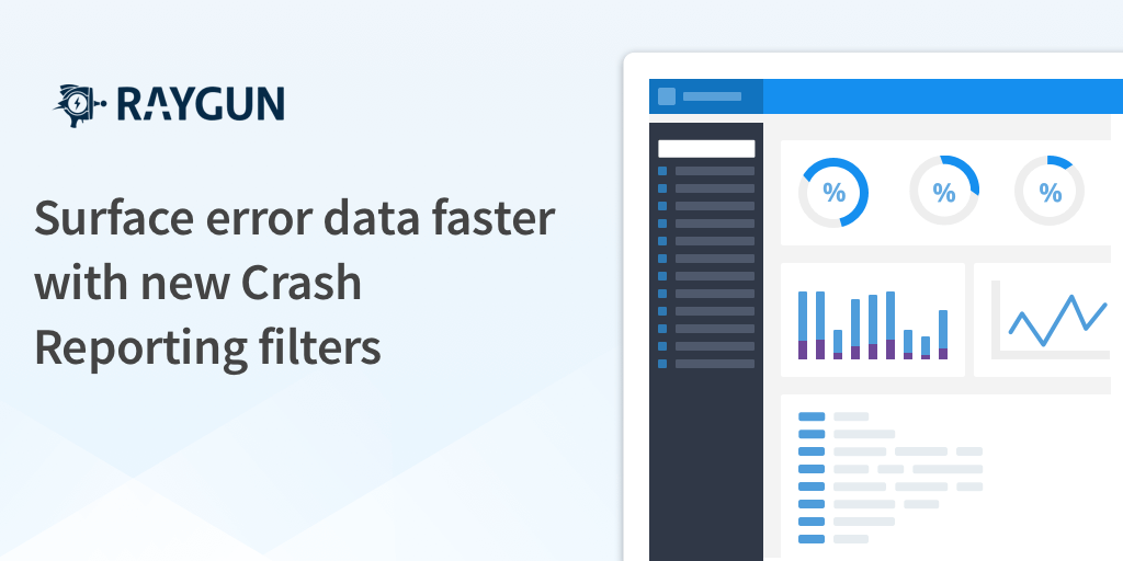 Introducing new Crash Reporting error group filters UI: Surface error data faster featured image.