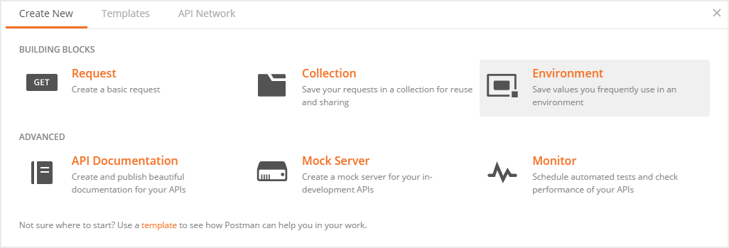 Postman best practices: How to create a new environment in Postman