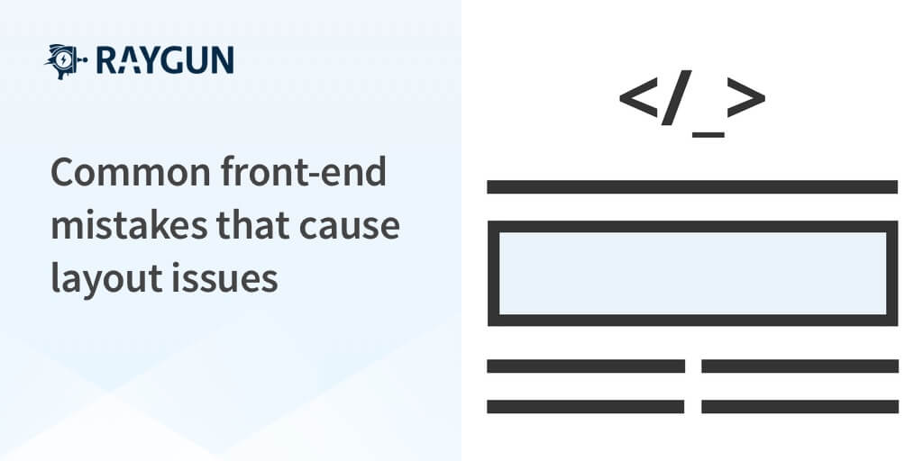 Common front-end mistakes