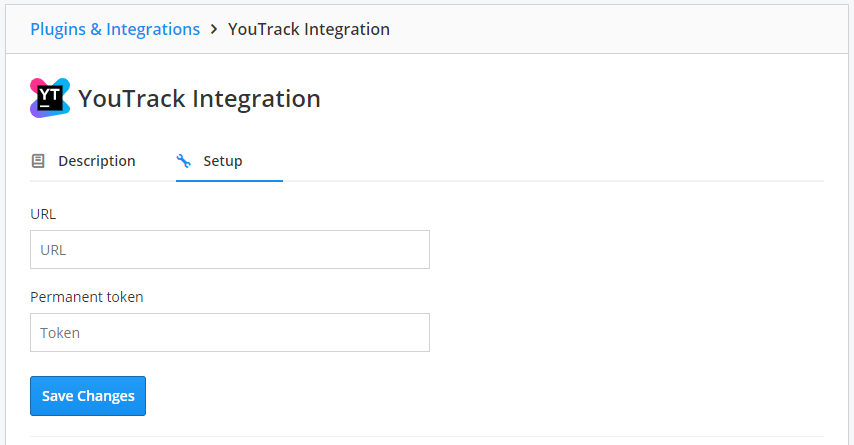 YouTrack set up