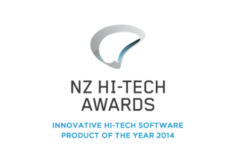 NZ Innovative hi-tech software product of the year award - 2014