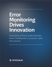 Error monitoring drives innovation eBook