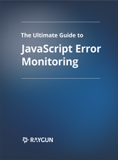 JavaScript error monitoring eBook