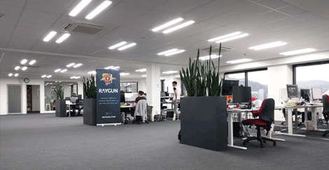 Raygun's Wellington office