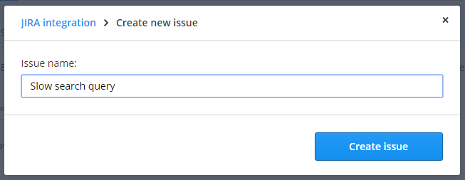 Create new issue: renamed