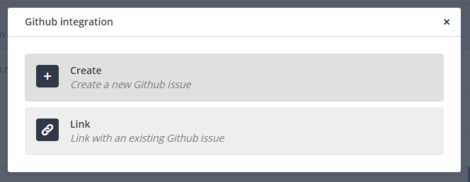 GitHub Link button highlight