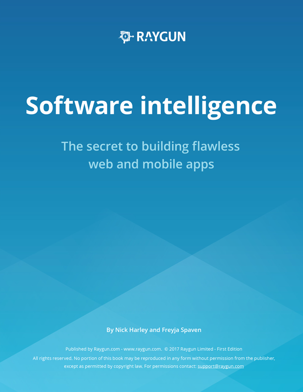 Front page of the Ebook Software Intelligence
